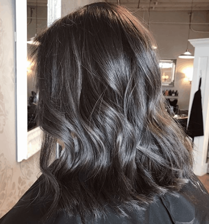cabelo charcoal
